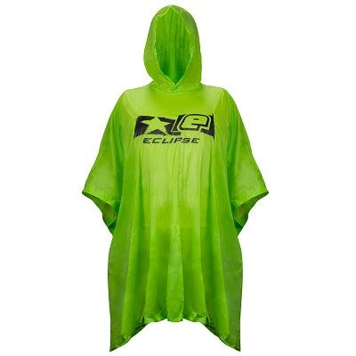 Eclipse In Green eclipse poncho green