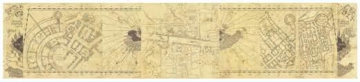 Marauders Map Bedroom Wallpaper The Marauders Map By Littlefallingstar Deviantart On