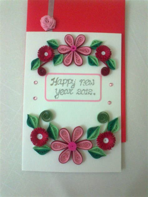 Handmade Cards For New Year - for cousins handmade cards ideas for the new year