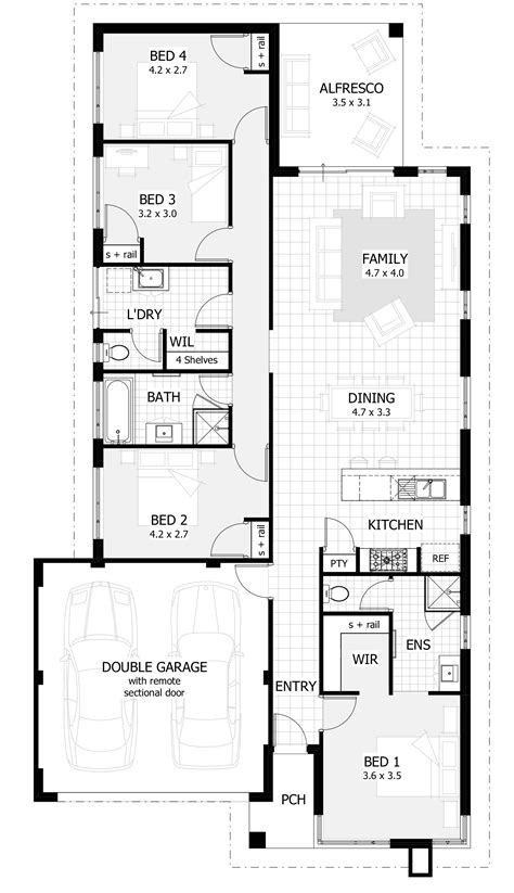 house plans for narrow lots with garage house plans for narrow lots with garage 100 images 6