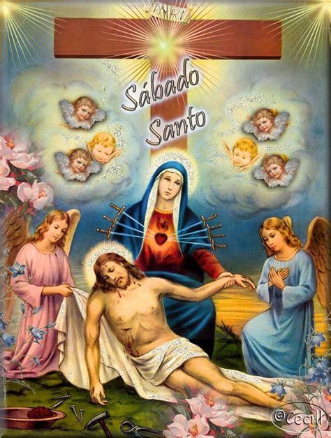 imagenes feliz sabado santo 174 im 225 genes y gifs animados 174 im 193 genes de la semana santa