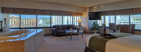 Rooms In Reno by Reno Suites Large Player S Spa Suite Eldorado