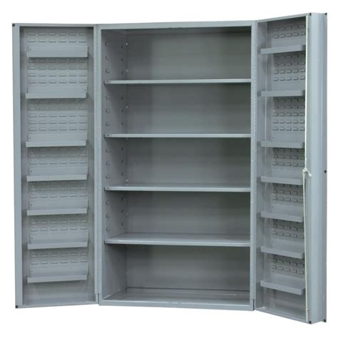 Metal Storage Cabinet With Doors Metal Storage Cabinets With Doors And Shelves Home Furniture Design