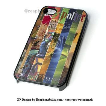 Harry Potter All Book Cases Samsung Galaxy Iphone Xperia Cases harry potter all 7 books iphone 4 4s 5 5s from