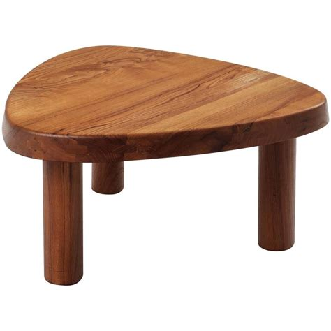 chapo coffee table in solid elm at 1stdibs