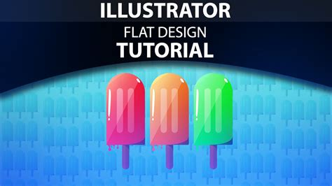 tutorial flat design illustrator illustrator food flat design tutorial youtube