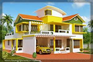 kerala model home in 2700 sq feet house design plans kerala model house elevation photos