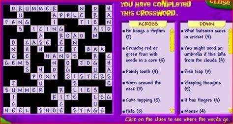 dvd format crossword crossword answers
