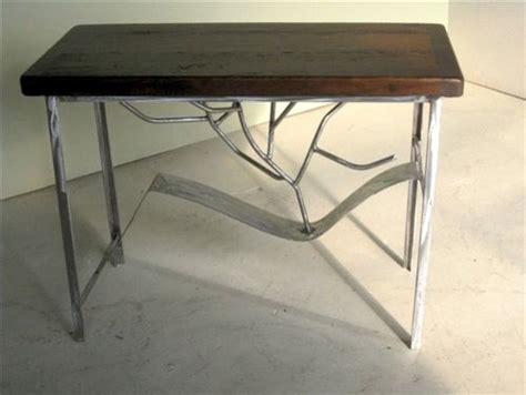 metal sofa table legs rustic modern sofa table with metal legs rustic side