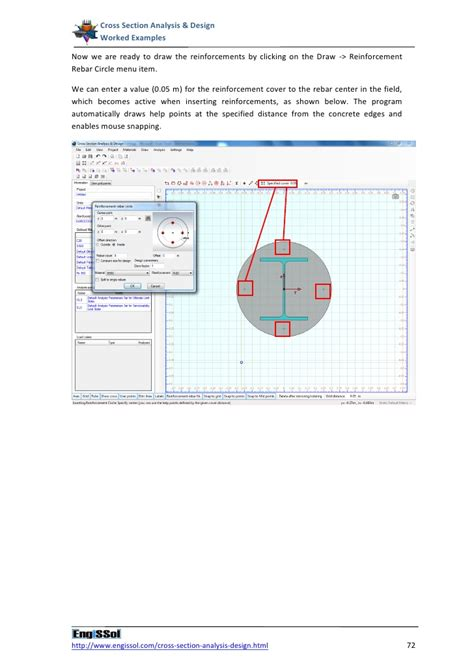cross section analysis cross section analysis and design worked exles
