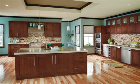 Premium Kitchen Cabinets Premium Kitchen Cabinets By Decora In Rich Arlington Finish On Cherry Wood Combine With