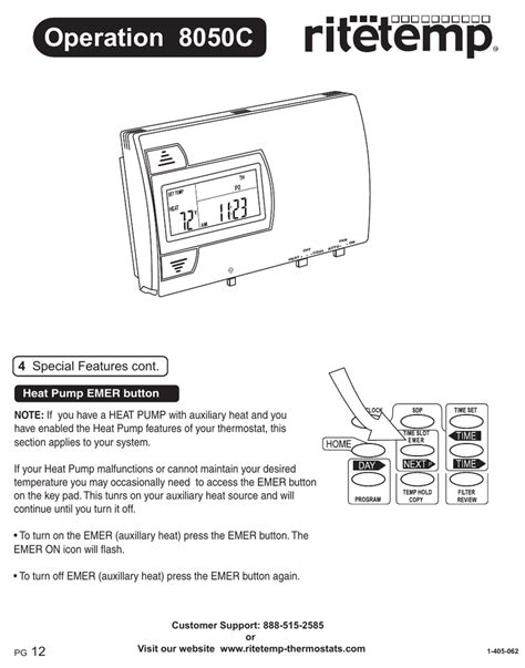 rite temp thermostat wiring diagram vtx 1800 c wiring diagram