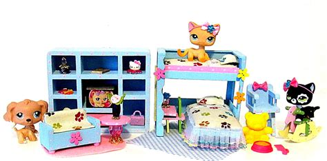 littlest pet shop doll house old lps toy cat dog 2037 2038 littlest pet shop action figure with accessories
