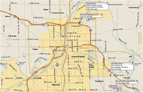 map usa grand rapids tdifest 2002