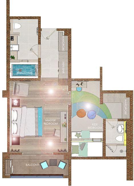mirage hotel room layout kids suites bali family suite resort beachfront at nusa