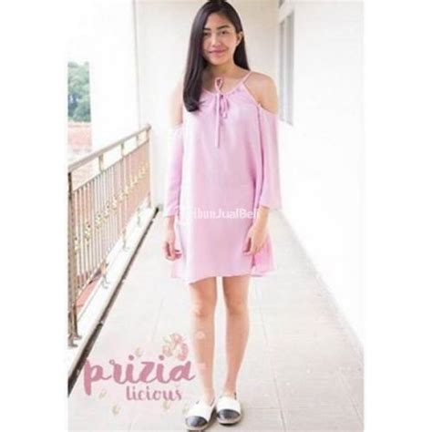 Kaos Cewek Pink Vs White 1 baju wanita terkini cutout korean style warna pink white