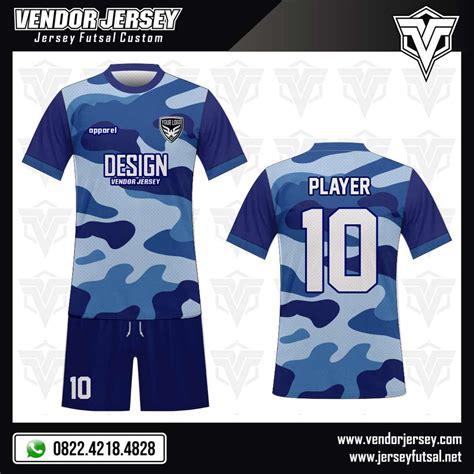 jersey futsal desain depan belakang kerah desain kaos futsal armyre vendor jersey futsal