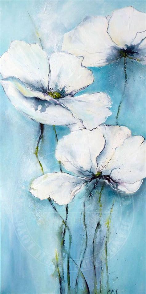 Acrylbilder Vorlagen Modern Die Besten 17 Ideen Zu Acrylbilder Blumen Auf Blumen Gem 228 Lde Blumen Leinwand Und