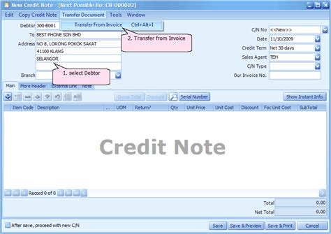 Format Of Credit Note For Discount Search Results For Blank Format Of Credit Note Calendar 2015