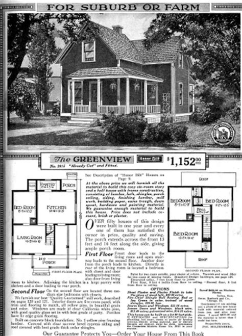 vintage sears catalog craftsman house plans modern