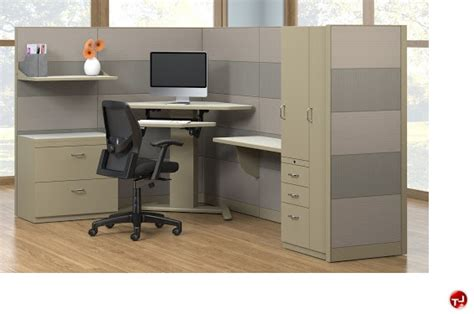 Desk Cubicles by The Office Leader L Shape Height Adjustable Cubicle Desk