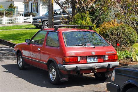 subaru hatchback 1980 subaru i hatchback 1800 4wd 80 hp