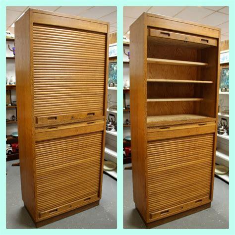 Roll Front Cabinet Doors Found In Ithaca 187 Mid Century Russian Roll Top Door Cabinet