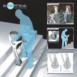 Stair Aids For Disabled by Student Creates Boomer Mobility Aid That Climbs Descends