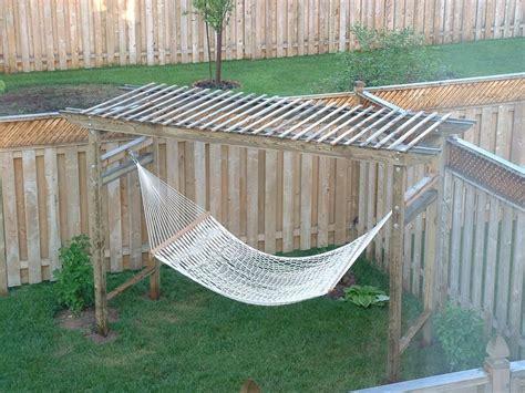 best 25 backyard hammock ideas on