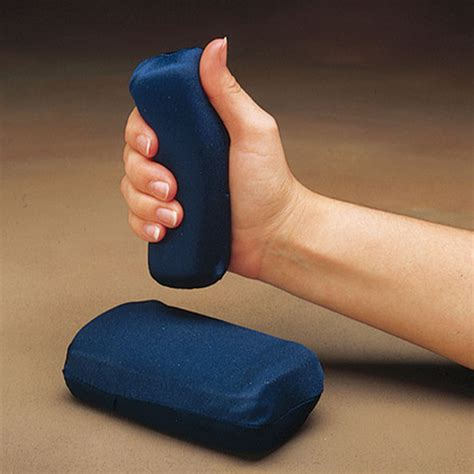 soft touch grip gel filled band whiteley allcare exercise products hand exercisers nc29180