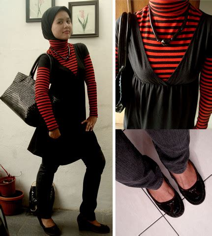 Andini Dress By andini miranti zara stripes shirt souvenir from uganda