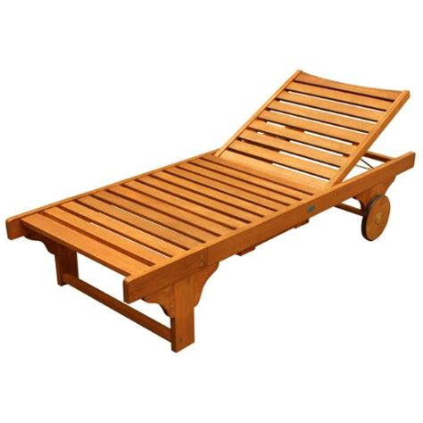 Wood Chaise Lounge Wooden Chaise Lounge Home Design