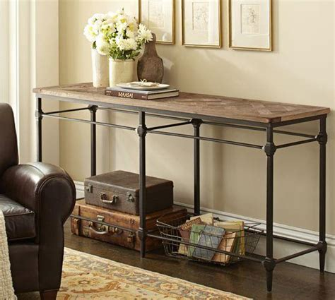 sofa table design pottery barn 28 images sofa table