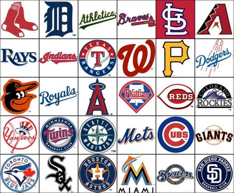 baseball teams mlb teams by divisions it takes balls pinterest mlb
