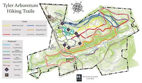 hiking trails arboretum