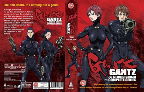 gantz complete comprar dvd gantz complete collection dvd uk