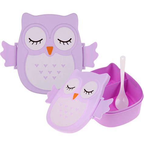 Kotak Makan Owl buy grosir kartun kotak makan siang from china