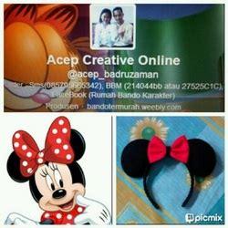 Bando Mickey Mouse 2 category rumah bando karakter