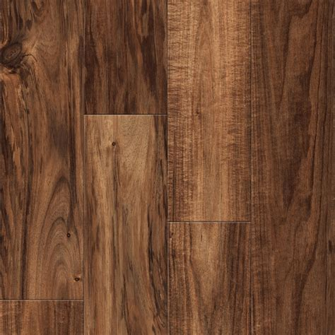 shop allen roth handscraped acacia wood planks sle natural acacia at lowes com