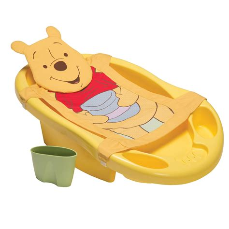 winnie the pooh bathroom disney baby minnie mouse bathtub sling rinsing cup