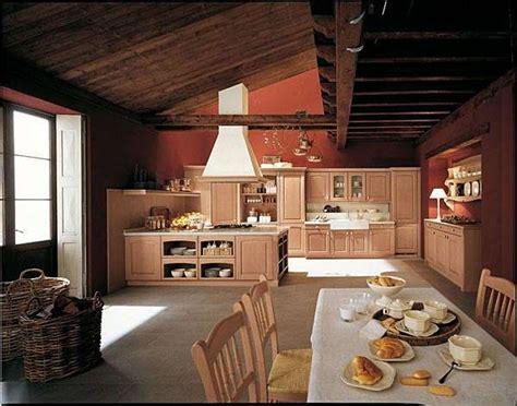 arredamento casa rustica come arredare una cucina rustica