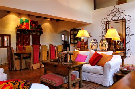 second home in mexico eclectic living room by