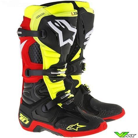 yellow motocross boots 43 best alpinestars motocross boots images on