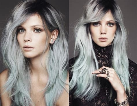 popular trending gray hair colors new year new life new hair trends for 2015 razzy1234