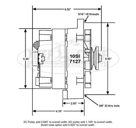 7127 alternator wiring diagram chevrolet cummins