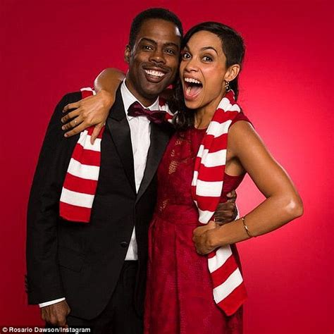 Chris Rock Has A Secret 13 Year Child by Rosario Dawson Dons Festive Reindeer Antlers For The West