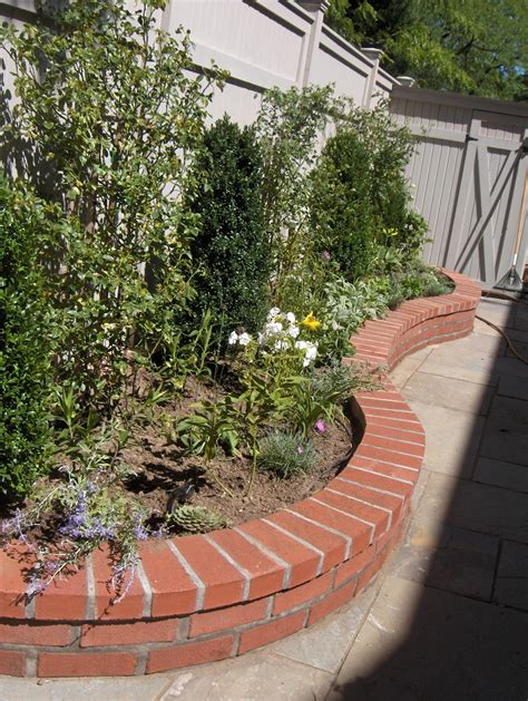 Brick Laminate Picture Brick Garden Walls Garden Brick Wall Ideas