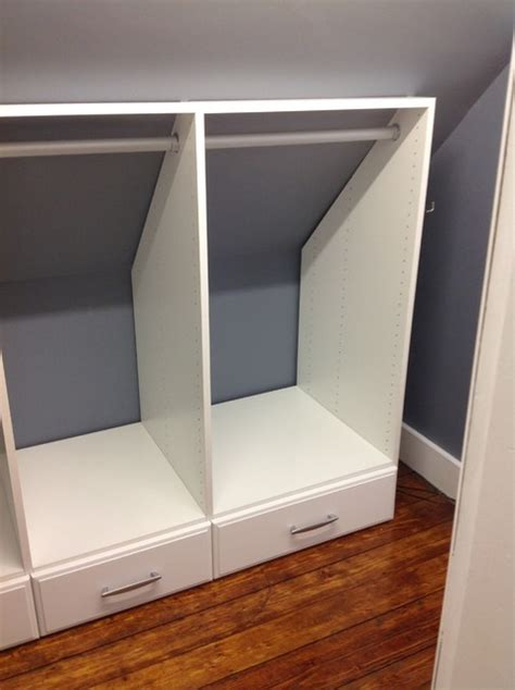 How To Remodel Closet by Attic Closets Auburndale Ma 02466 Craftsman Closet