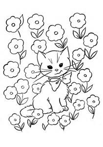 free printable coloring pages for free printable kitten coloring pages for best
