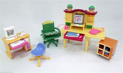 doll house figures fisher price loving family twin time dollhouse figures accessories lot 79 99
